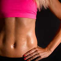 Woman fat burner