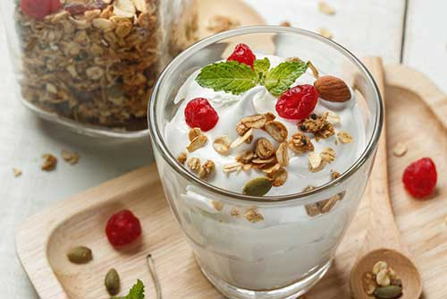 Yogurt for fat burning